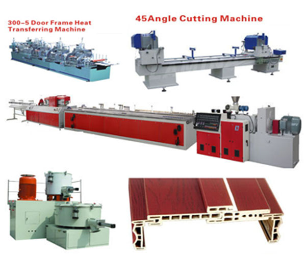 WPC Door Frame Profiles Production Equipments