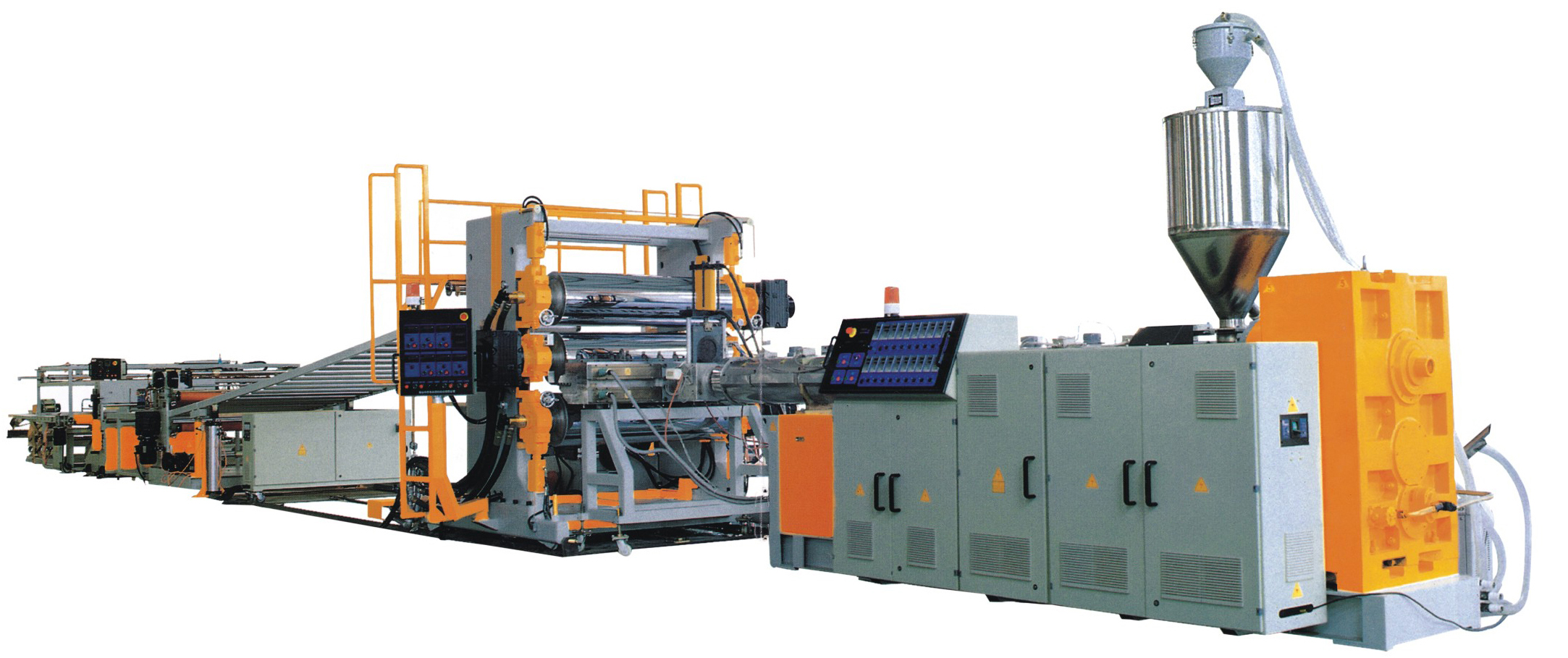 PET/PP/PE/PVC  sheet Extrusion line