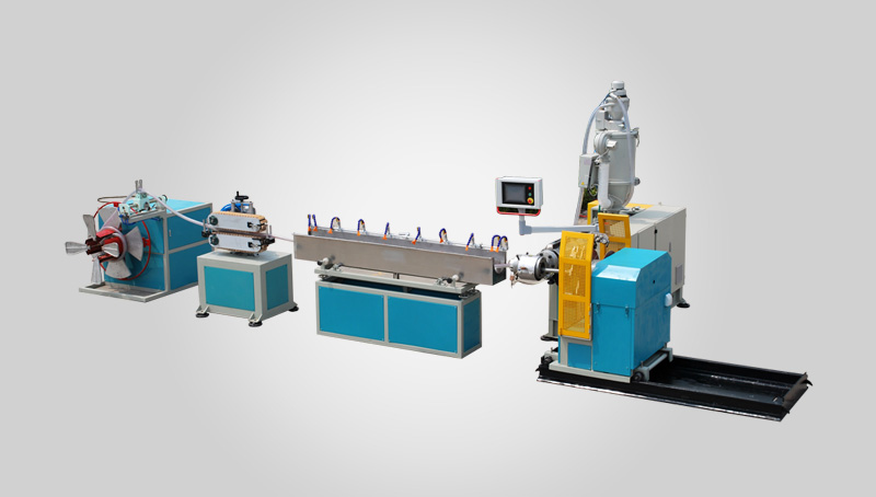 PVC steel wire hose extrusion line