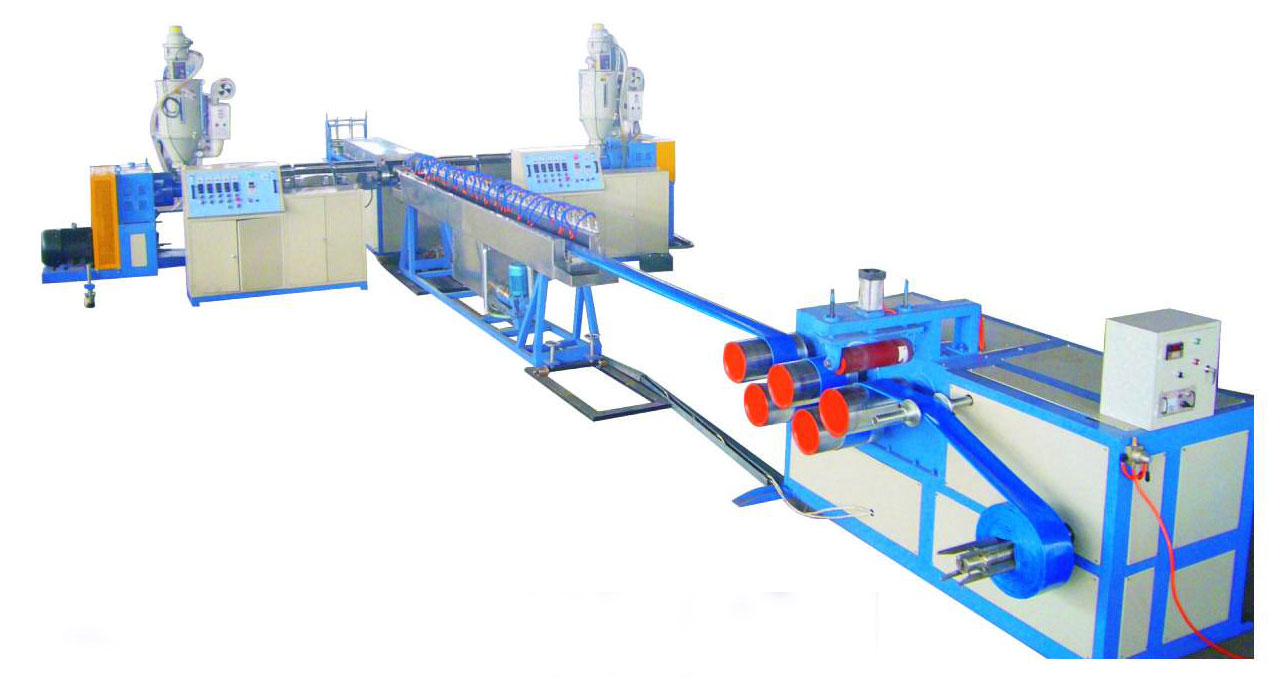 PVC Lay-flat Agriculture Irrigation Hose Extrusion Line