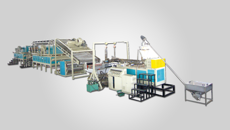 Plastic Cushion Mat(Carpet)Extrusion line