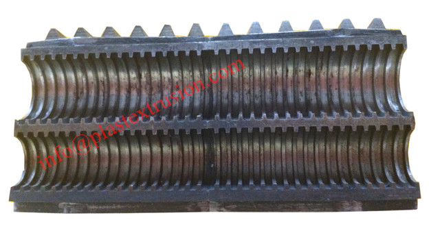 2 Cavities Corrugated pipe mould