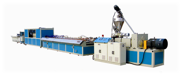PVC wood composite Profile Extrusion Machine