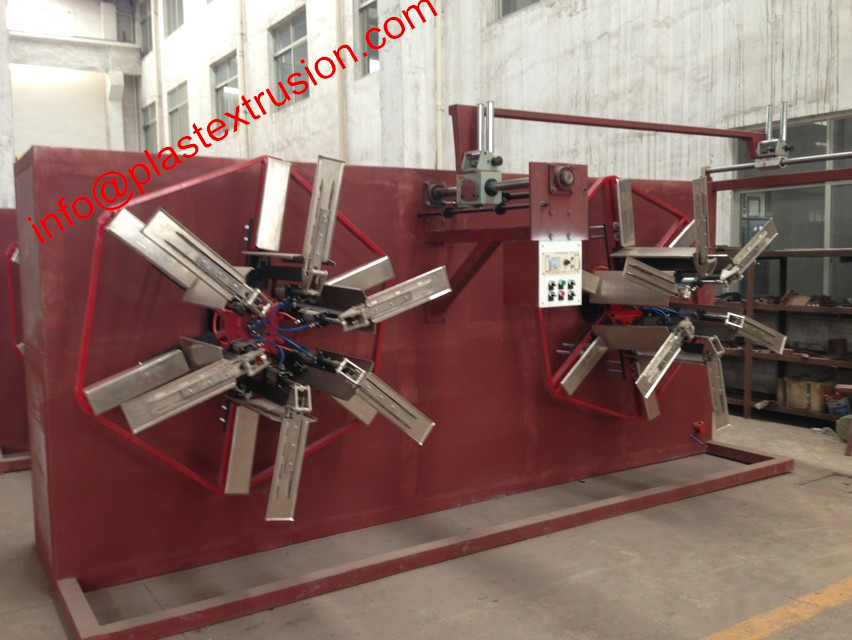 PVC/PP/PE pipe automatic coiler
