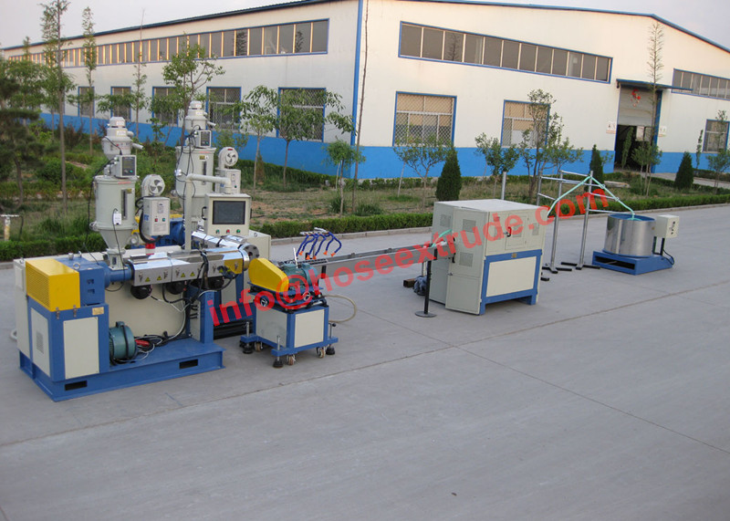 EVA/PVC Suction Hose Extruder Machine Line