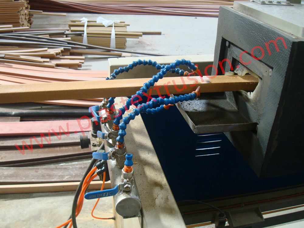 PP PE Foamed Profiles Extrusion line