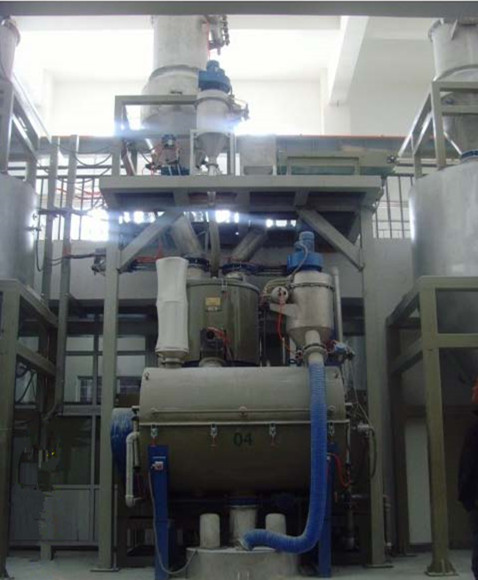 Auto Weighing Mixing Conveying Feeding System