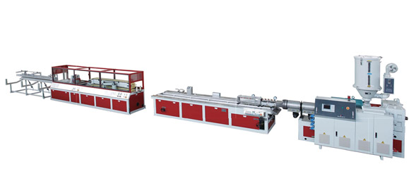PVC WPC Profile Single Screw Extrusion Line