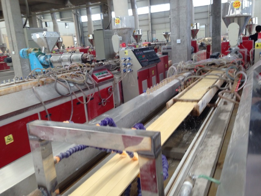 PVC WPC foam Profiles Extrusion Machine Line