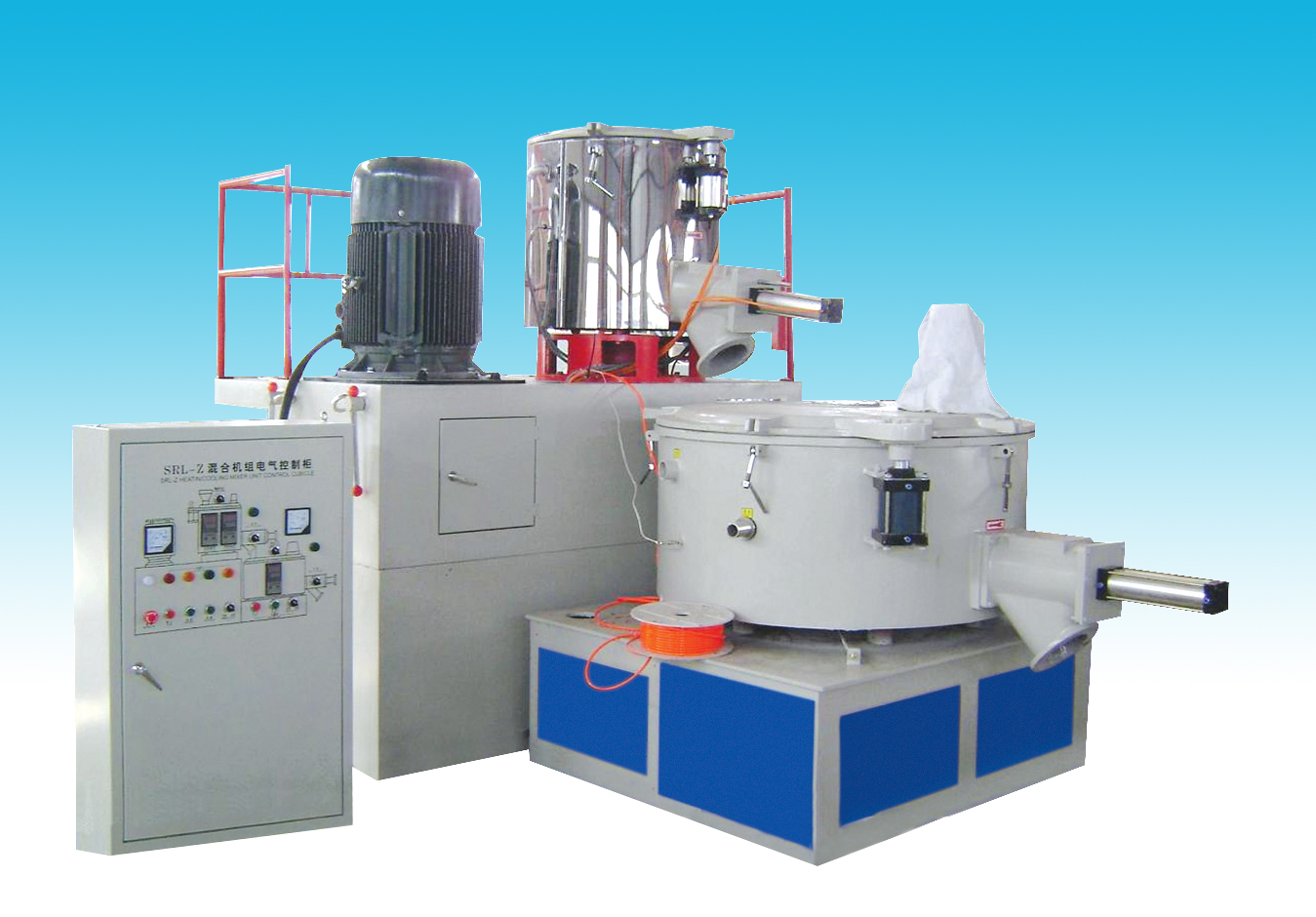 Mixing  machine for PE/PP Profiles Production