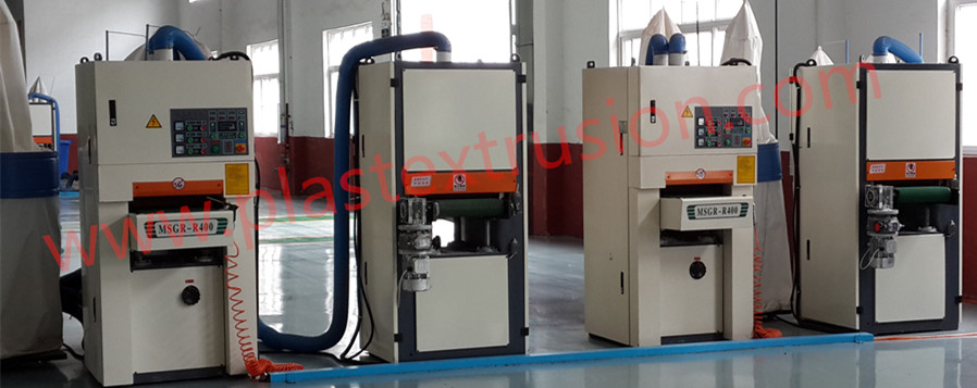 PE/PP WPC Profiles Brushing Machine
