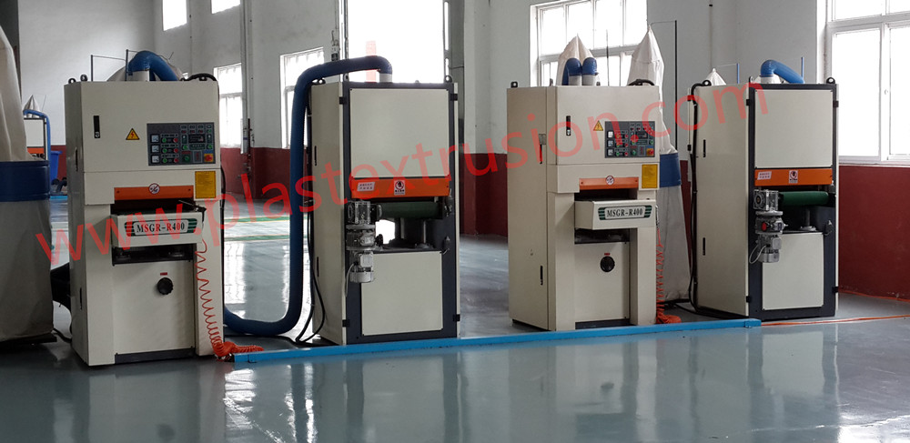 PE/PP WPC Profile Sanding Machine