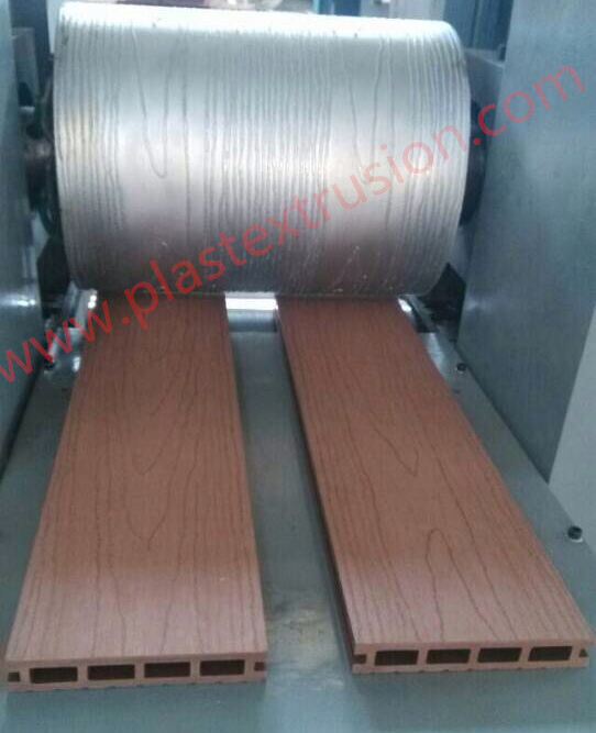 PE/PP WPC Profiles Embossing Machine