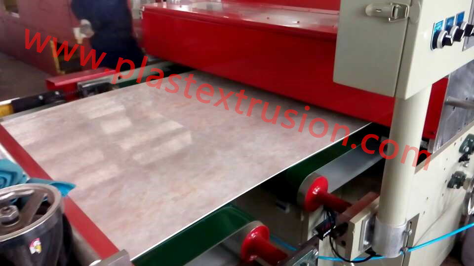 PVC Artificial Marble Sheet Extrusion Machine